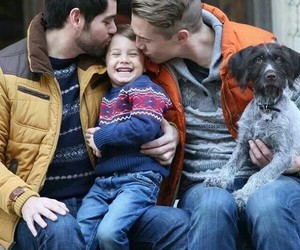 family and gay image