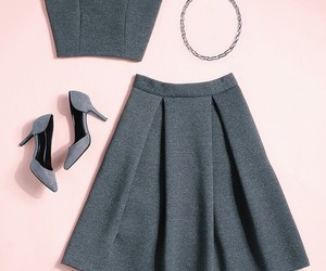 grey, simple, and style image