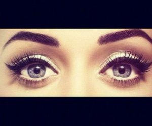 eyes, katy perry, and make up image