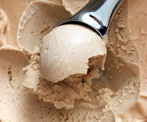 ice cream, food, and brown image