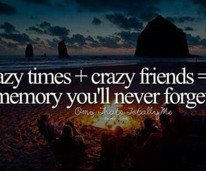 crazy, memory, and friends image