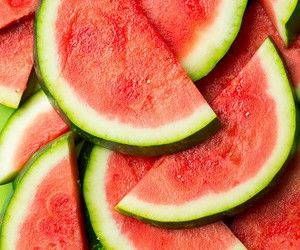 colorful, fruit, and watermelon image