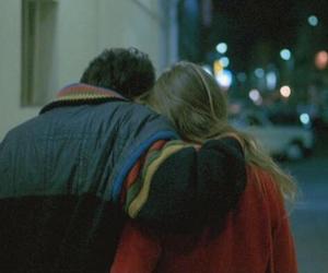 boy, girl, and night image