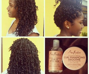 curly, natural, and cute image
