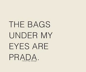 Prada, quote, and bag image