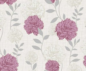 flowers, pattern, and vintage image
