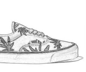 cool, drawing, and shoe image