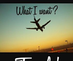 travel and what i want image