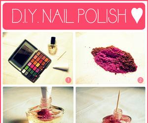 beauty, diy, and nail polish image