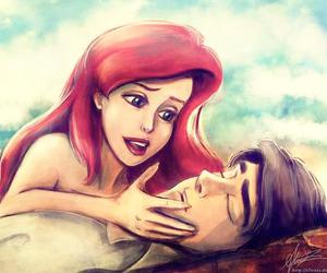 ariel, disney, and love image