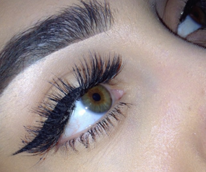 eyebrow and makeup image