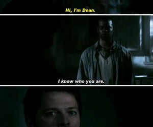 dean, funny, and cas image