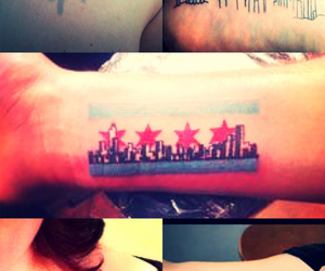 chicago, city, and tattoo image