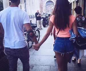 couple, cute, and summer image