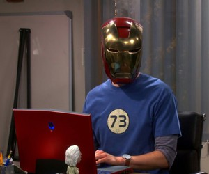 cooper, iron man, and jim parsons image