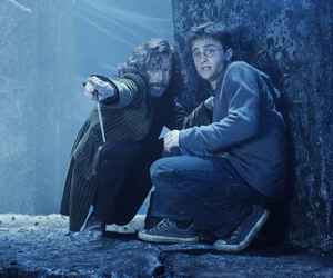 harry potter, sirius black, and daniel radcliffe image