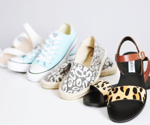 converse, fashion, and sandals image