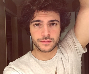 handsome, italy, and stubble image