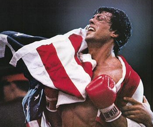 rocky and sylvester stallone image