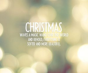christmas, quote, and magic image