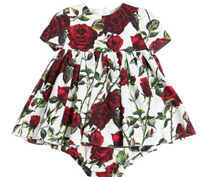 baby, cotton, and dress image