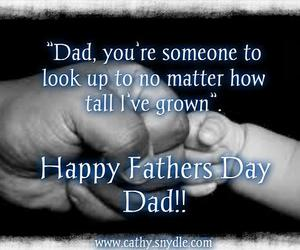 happy fathers day and father's day image