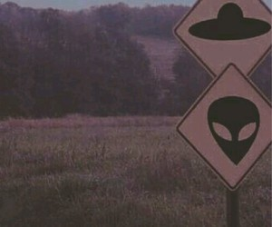 aliens, imagination, and grass image