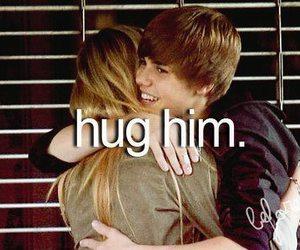 justin bieber, hug, and before i die image