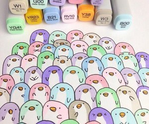 art, cute, and copic image