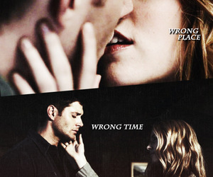 dean winchester, jo, and supernatural image