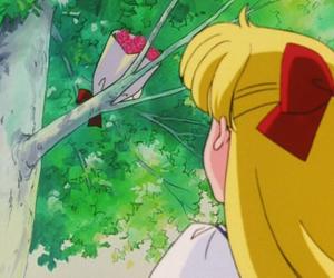 anime, artemis, and sailor moon image