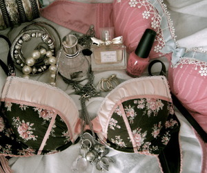 bra, girly, and pink image
