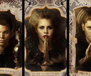 family, rebekah, and elijah image