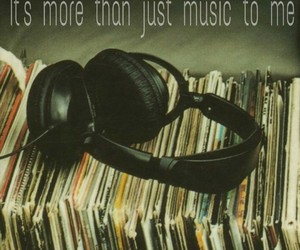 music, headphones, and vintage image