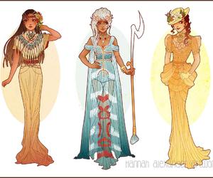 disney, princess, and pocahontas image