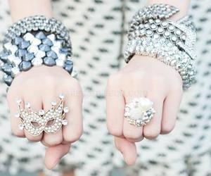 bracelet and rings image