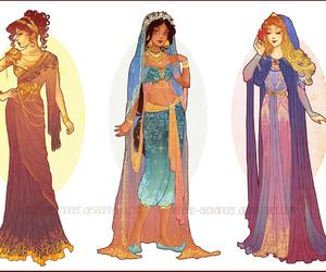 aurora, disney, and jasmine image