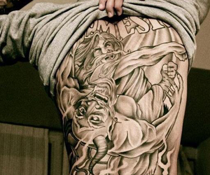 back, full, and Tattoos image