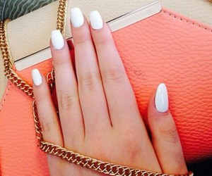 beige, clutch, and coral image