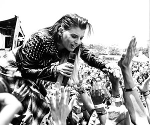 black white, juliet simms, and warped tour 2015 image