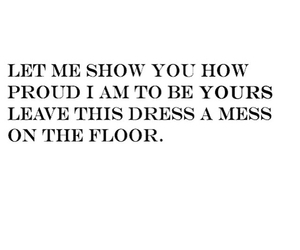 affection, dress, and floor image