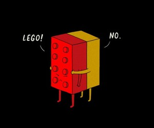 lego, funny, and hug image