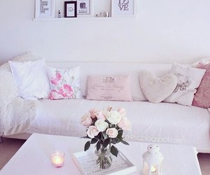 room, pink, and inspiration image