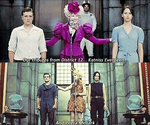 hunger games, catching fire, and peeta mellark image