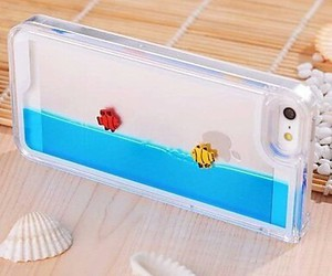 iphone, case, and fish image