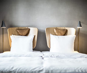 architecture, bed, and inspo image