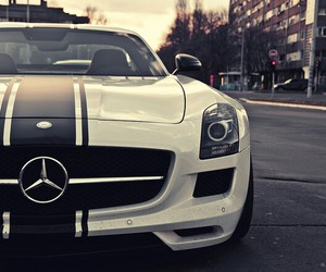 boy, car, and mercedes image