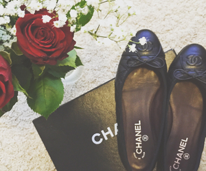 chanel, chanel flats, and fashion image