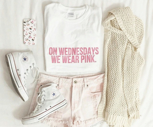 all star, clothes, and pink image