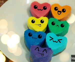 heart, cute, and blue image